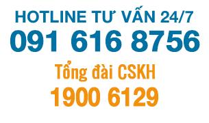 liên hệ hotline HOSCO